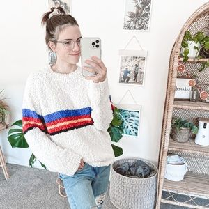 Roolee Liendo Textured Sweater